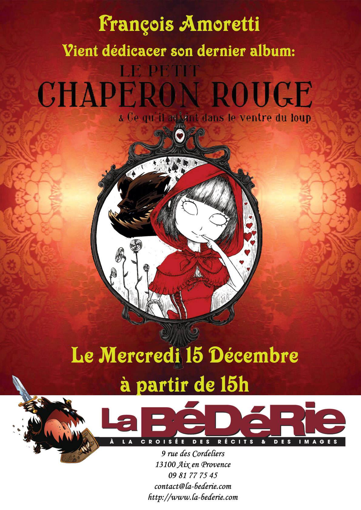 Dédicace Petit Chaperon Rouge