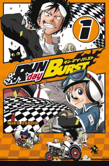 Manga, Couverture, Run day Burst